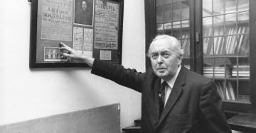 Harold Wilson at the William Morris Centre, 23 Jul 2976